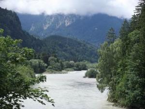 Auwaldweg im Walderlebniszentrum Füssen